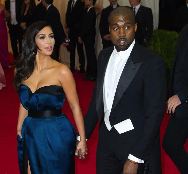 Kimye at the MET