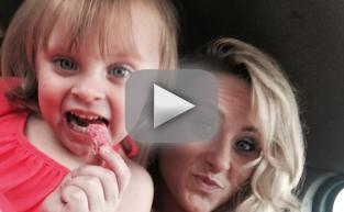 Jeremy Calvert Surprises Daughter Adalynn, Leah Captures It On Video