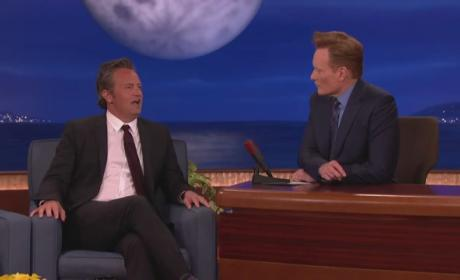Matthew Perry Shares Embarrassing Porn Story on Conan