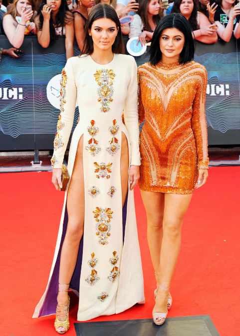 Kylie and Kendall at MuchMusic Awards