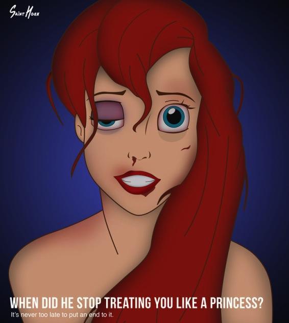 Battered Ariel