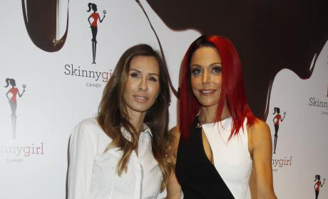 Carole Radziwill & Bethenny Frankel: Skinny Girl Candy Launch