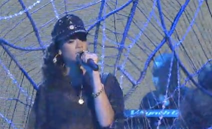 Rihanna Performs Medley of Hits, Wears Short Shorts on Saturday Night Live