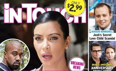 Kim Kardashian Catches Kanye Texting Ex, Goes Ballistic with Cheating Accusations!