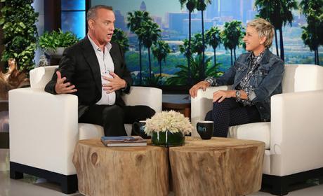 Tom Hanks and Ellen DeGeneres