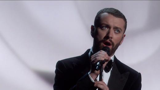 Sam Smith at the Oscars