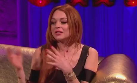 Lindsay Lohan Talks About Her Drinking