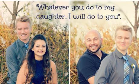 Father Issues Scary, Hilarious Warning to Daughter's Homecoming Date