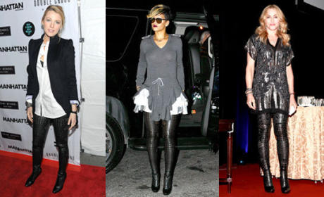 Who looked best: Blake, Rihanna or Madonna?