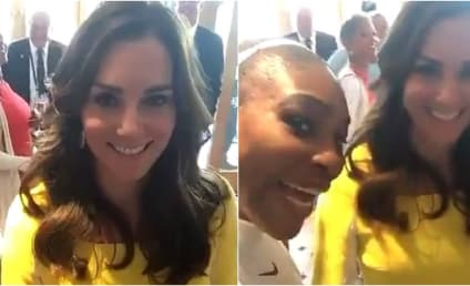 Serena Williams Takes Video With Kate Middleton After Winning Some Tennis Match