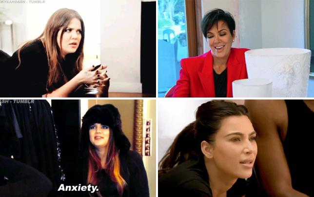 Khloe kardashian looks confused