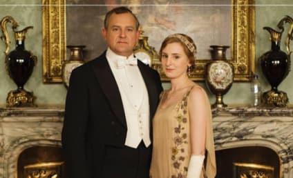 Downton Abbey Photo Fail: Anyone Feeling Thirsty?!
