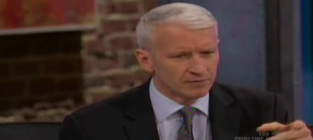 Anderson Cooper to Guy on Plane: B!tch, What the F Are You Doing?!