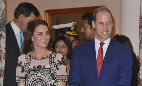 Prince William and Kate Middleton Attend Garden Party Celebrating The Queen's 90th Birthday