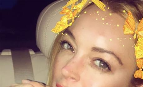 Lindsay Lohan Ring Photo