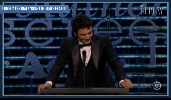 James Franco Gets Roasted: The Best Jokes - The Hollywood ...