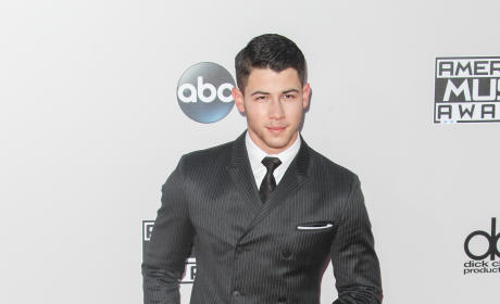 Nick Jonas at the American Music Awards