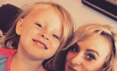 Leah Messer: Deaughter Selfie