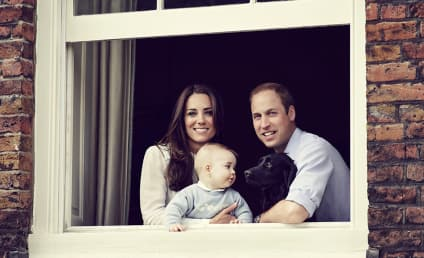 Prince George, Kate Middleton & Prince William: New Family Photo Released!
