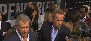Mel Gibson: Coked Up at The Expendables 3 Premiere?