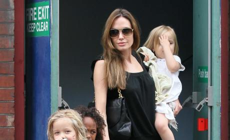 Angelina Jolie Acts Out Mother's Day