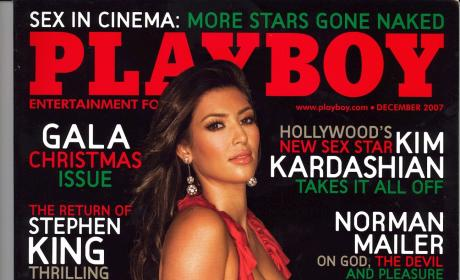 Kim Kardashian Playboy Issue