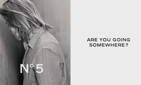 Brad Pitt Chanel Ad Asks: You Going Somewhere?