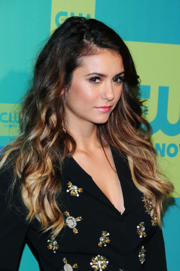 Nina Dobrev Blonde Hair Photo
