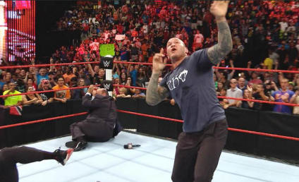 WWE RAW Recap: Down Goes Lesnar!