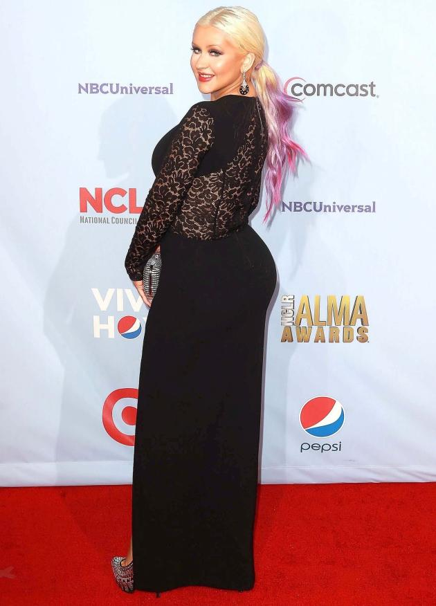 Fat Christina Aguilera
