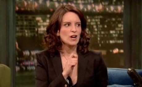 Tina Fey on Jimmy Fallon