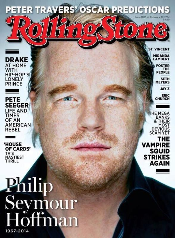 Philip Seymour Hoffman Rolling Stone Cover