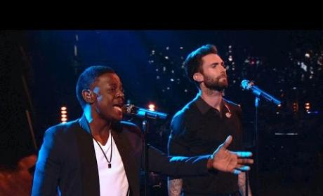 Adam Levine and Damien - Don't Let the Sun Go Down on Me (The Voice)