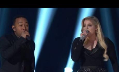 "Meghan Trainor and John Legend - ""Like I'm Gonna Lose You"""