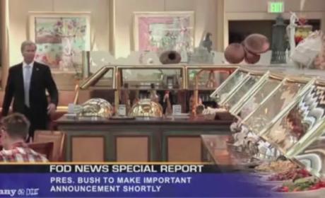 George W. Bush Reacts to Death of Osama bin Laden