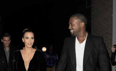 Kim Kardashian and Kanye West: Commitment Ceremony on the Way?!?
