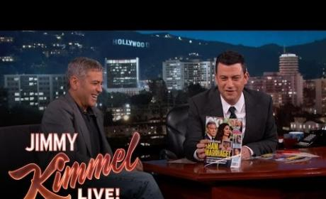 "George Clooney Laughs Over ""Sham Marriage"" Magazine Cover"