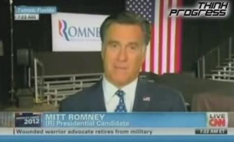 "Mitt Romney ""Not Concerned"" About Poor People"
