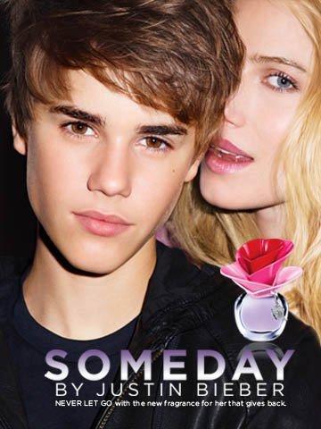 Justin Bieber Fragrance Ad