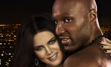 Lamar and Khloe Photo