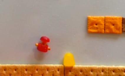 Super Mario Bros.: Reenacted With Food in Vine Video!