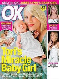Tori Spelling Baby