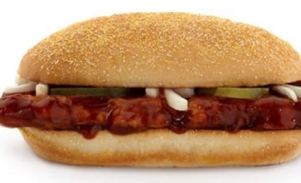 Frozen McRib Photo Reveals the Mystery of McDonald's Meat