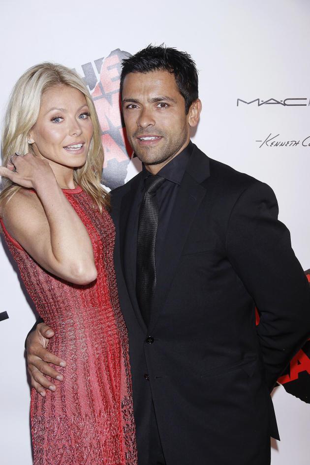Kelly Ripa and Mark Consuelos
