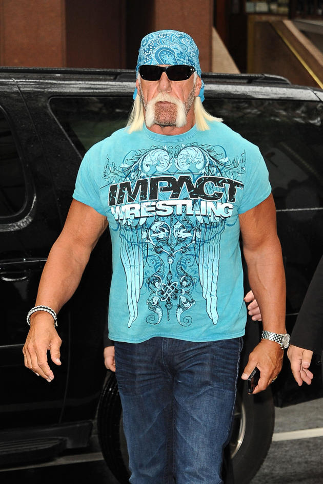 Hulk Hogan in NYC