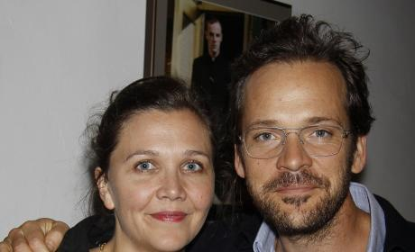 Out for a Stroll: Maggie Gyllenhaal, Peter Sarsgaard, Ramona