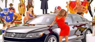 Carmen Electra Volkswagen Commercial