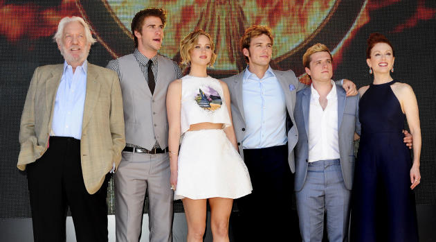 Stars of Mockingjay