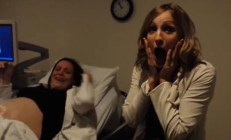 Woman Learns Sister is Having Twins, Goes Awesomely Insane