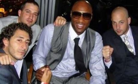 Bobby Heyward, Lamar Odom Photo